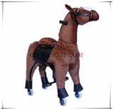 Mechanical Ride on Horse Plush Toy