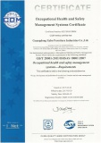Occupational Health and Safety Management Stystems Certificate