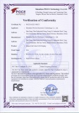 Indoor Full color LED display FCC Certificate