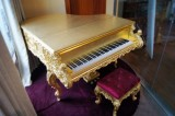 HG-G1 gold piano customized to USA