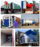 QT15 series big automatic hydraulic brick production line