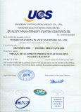 International quality certificate passed