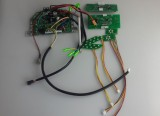 Electric scooter control board;