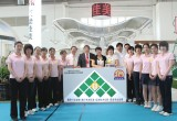 Jiamei team stands out on the China Sportshow