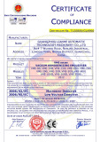 CE Certificate of Vacuum Emulsifying Machine