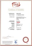 SAA Certificate for LED Floodlight