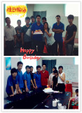 Happy Birtday to my Colleague