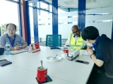 Hebei Huaqi Foreign trade Dept Team visit customer in Mombasa