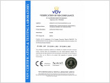 CE Certificate for Butterfly Valve