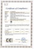 EMC-CE CERTIFICATE OF BEAM MOVING HEAD LIGHT