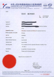 Inflatable Material SGS Certificate