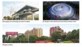 Case about Chongqing rail.ZhangPu orchids industrial park.Qinghua building
