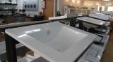 Ceramic bathroom cabinet basin display