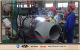 automatic pipe welding machine/pipe welding machine/ pipe spool fabrication line