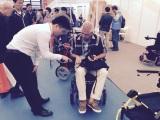 JBH power wheelchair exhibition show