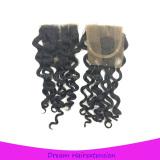 4*4inch closure Italian wave Grade 8A unprocessed virgin hair