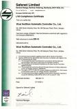 CE certificate of DR series actuators