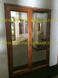 European Style Wood Aluminium Door