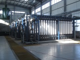 Power industrial wastewater reuse, 9600m3/d