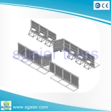 Mojo barrier aluminum folding barrier for performance