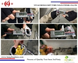 Quality Test Process of hoses from 3rd Party
