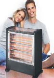 warm quartz heater