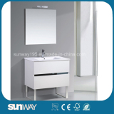 2016 Hot Sale Europe Style Bathroom Vanity with Mirror Cabinet (SW-1502)