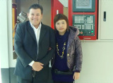 A photo with client 2