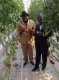 African Delegation Visits Ecological Agricultural Garden
