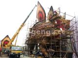 The Giant 40m Animatronic Stegosaurus is under production