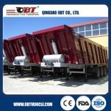 3 Axle 50 Ton Rear Side Dumper Tipper Body Truck Semi Trailer