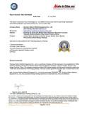 TUV autited Certificate
