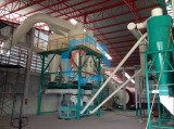 Sawdust Hammer Mill Set In Customer Factory