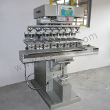 The First Customized 8-colour Auto Shuttle Pad Printer in Eastern Guangdong
