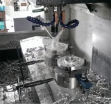 wheel spacer production machine