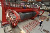 Tanker body forming machine