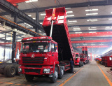 semi trailer workshop and production lines exhibition