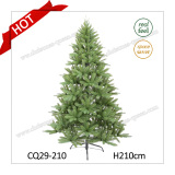 7FT Artificial Green PVC Needle Pine Christmas Tree for Home