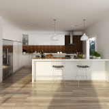 Australia Project Lacquer Built-in Kitchen Cabinet
