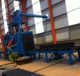 Step6 of Steel Structure Processing Technical Flow-Shot Blasting and Descaling