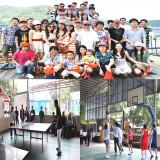 ZHEHAN company family activities (Training Travel Part show)