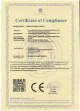 Intelligent HD PTZ Camera CE Certificate