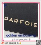 microfiber cloth with bronzing logo