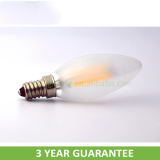 360 beam angle 3W led candle bulb E12/E14 with UL/CE/RoHS approved