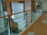 Stainless Steel Glass and rod Railing Installed in UK