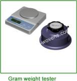 Gram weight tester