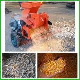 Test of 5TY-850 corn thresher
