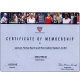 USTA certification of membership