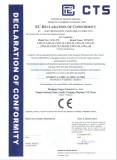 CE certificate for CJX1 AC contactor