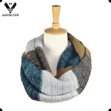2016 Latest Colorful Stripe Knitted Snood